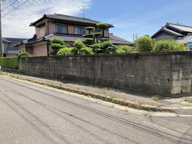 安城市補助金利用 ブロック塀解体工事イメージ2